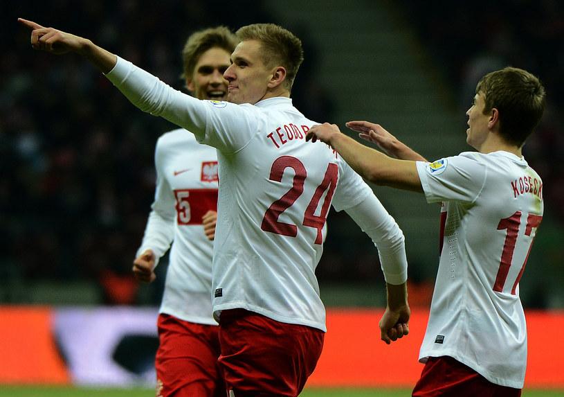Polska pokonała San Marino 5-0, a jedną z bramek zdobył Łukasz Teodorczyk /AFP
