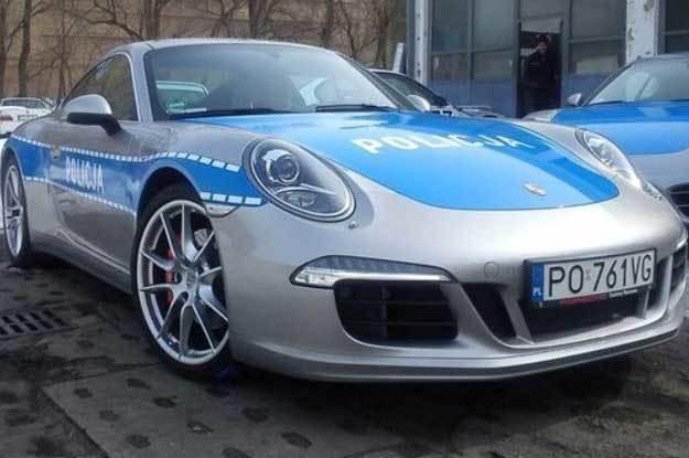 Polska policja marzy o Porsche. Ale ten samochód to żart /
