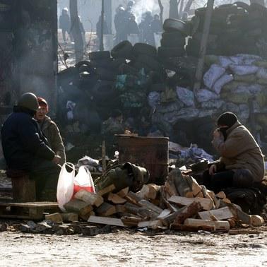 Polska pomoc dla Majdanu zablokowana w Kijowie