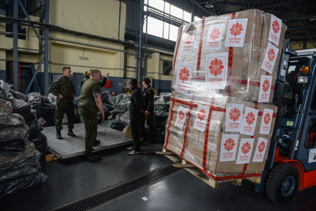 Polska pomoc humanitarna dla Nepalu /Jakub Kamiński   /PAP