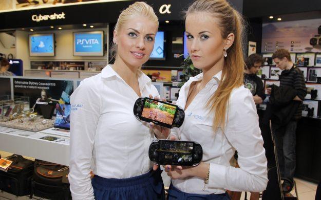 Polska premiera konsoli PlayStation Vita - fot. Ida Podsiebierska/AKPA /INTERIA.PL