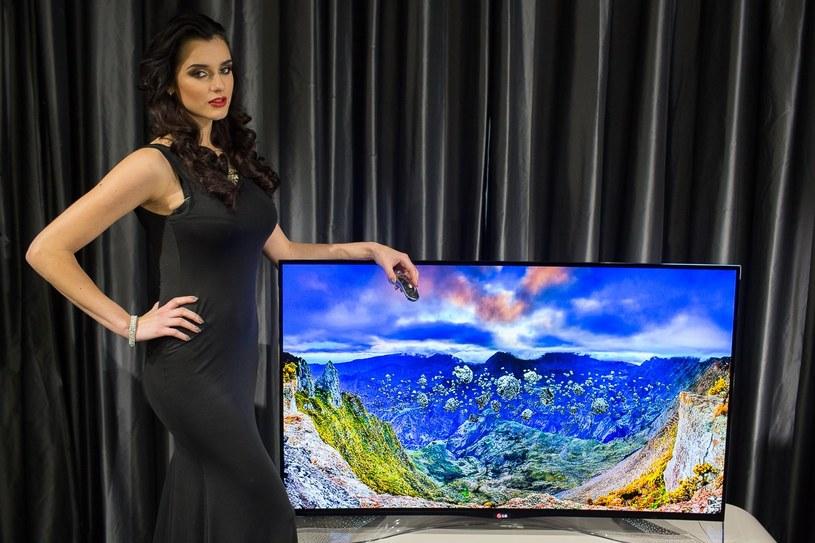 Polska premiera limitowanej edycji telewizorów LG OLED zdobionych kryształami Swarovskiego /materiały prasowe