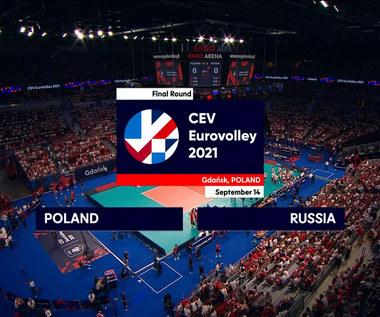 Polska -Rosja. ME siatkarzy 2021. Skrót meczu (POLSAT SPORT) Wideo
