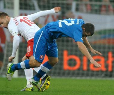 Polska - Słowacja 0-2 w meczu towarzyskim