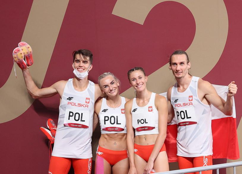 Polska sztafeta zdobyła złoto Igrzysk Olimpijskich w Tokio / PAP/Leszek Szymański /PAP