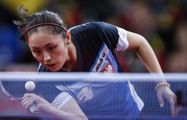 Polska tenisistka stołowa Li Qian /PAP/EPA