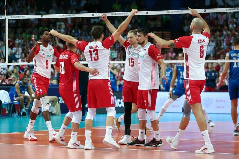 Polska w meczu z Serbią /Jakub Piasecki /Newspix