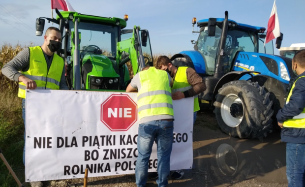 Polska w żółtej strefie. Co z jutrzejszym protestem rolników w Warszawie?