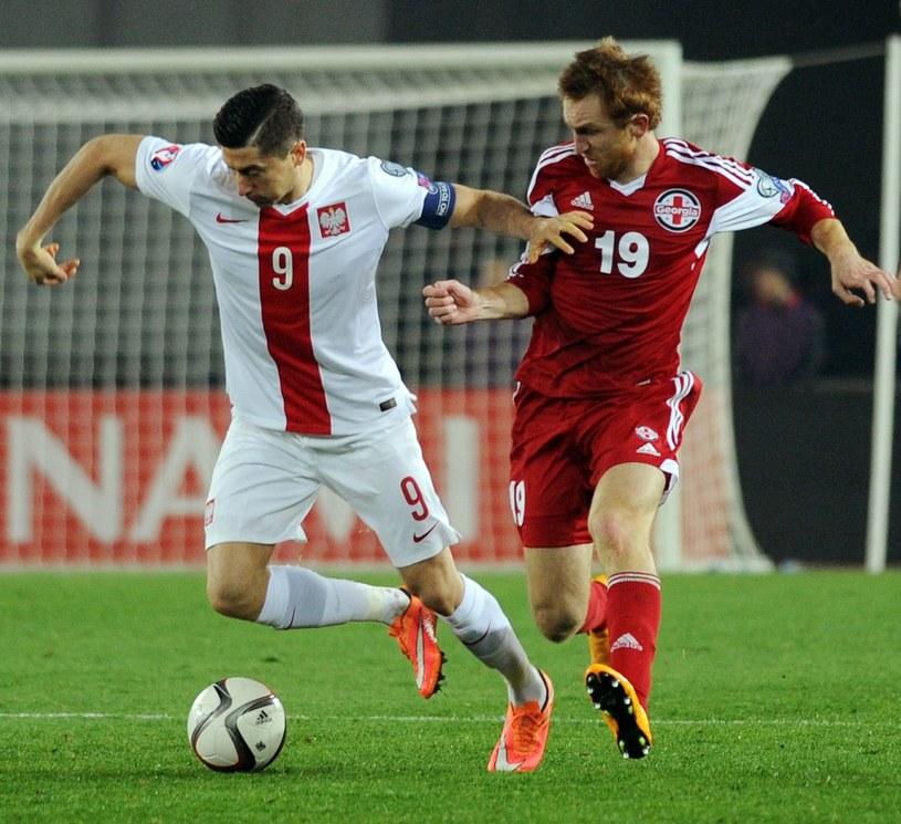 Polska wygrała z Gruzją w Tbilisi 4-0 /AFP