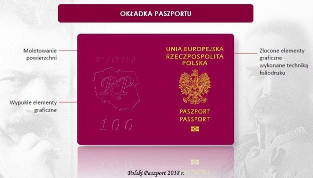 Polska Wytwórnia Papierów Wartościowych uruchomiła produkcję nowego paszportu /Informacja prasowa