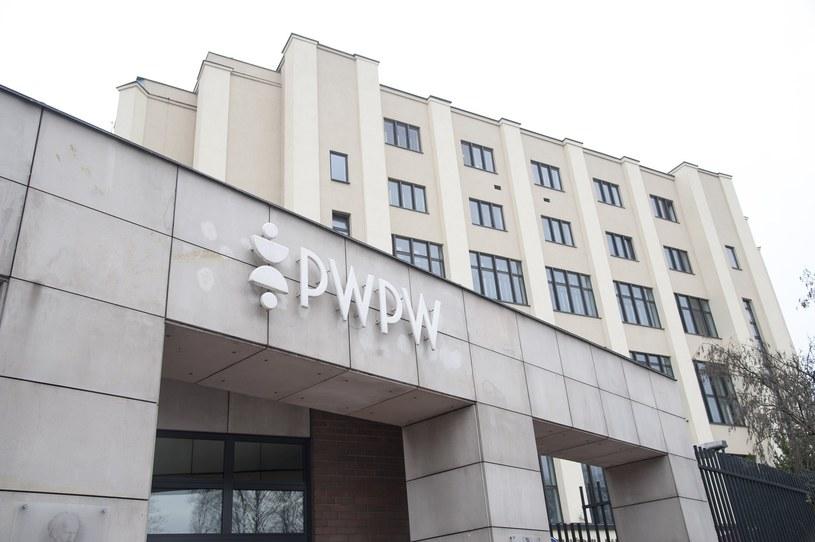 Polska Wytwornia Papierow Wartosciowych /Wojciech Strozyk/REPORTER /East News