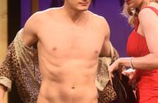 Polski aktor nago na scenie. Ludzie patrzyli z niedowierzaniem