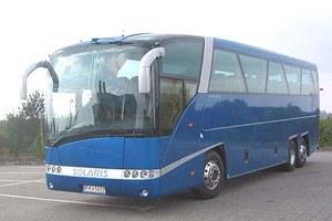 """Polski autobus na """"pudle"""""""