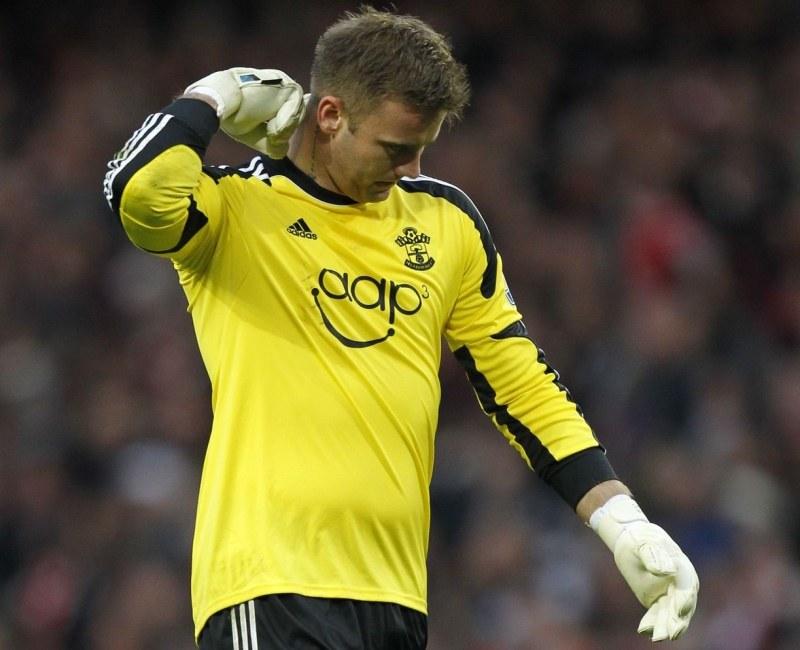 Polski bramkarz Southamptonu - Artur Boruc /AFP