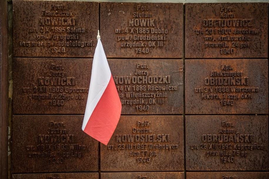 Polski cmentarz wojenny w Katyniu /Wojciech Pacewicz /PAP
