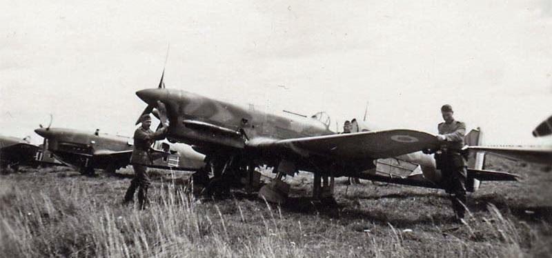 Polski CR.714 po zdobyciu przez Niemców /Wikimedia Commons /INTERIA.PL/materiały prasowe