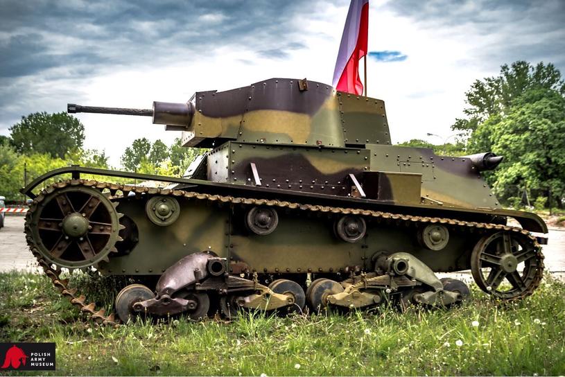 Polski czołg 7TP /materiały prasowe