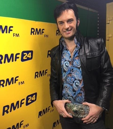 Polski Elvis - Piotr Skowroński /RMF FM