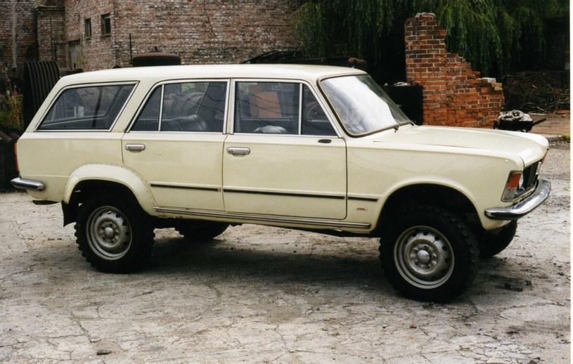 Polski Fiat 125p 4x4 /