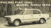 Polski Fiat 125p rok modelowy 1976