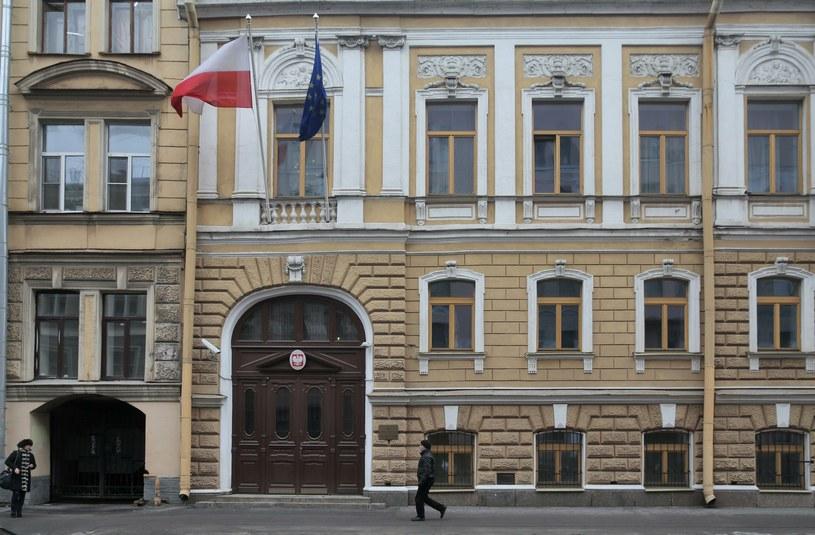 Polski Konsulat Generalny w Petersburgu /Agencja FORUM
