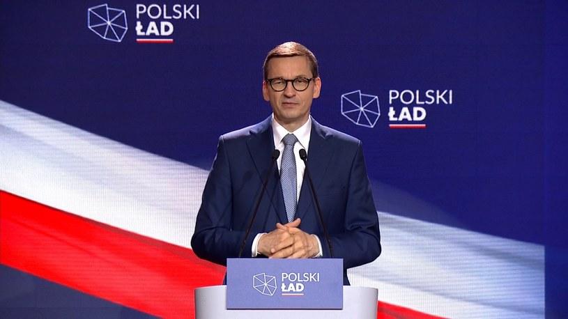 Polski Ład. Premier Mateusz Morawiecki przedstawił szczegóły /Polsat News /Polsat News