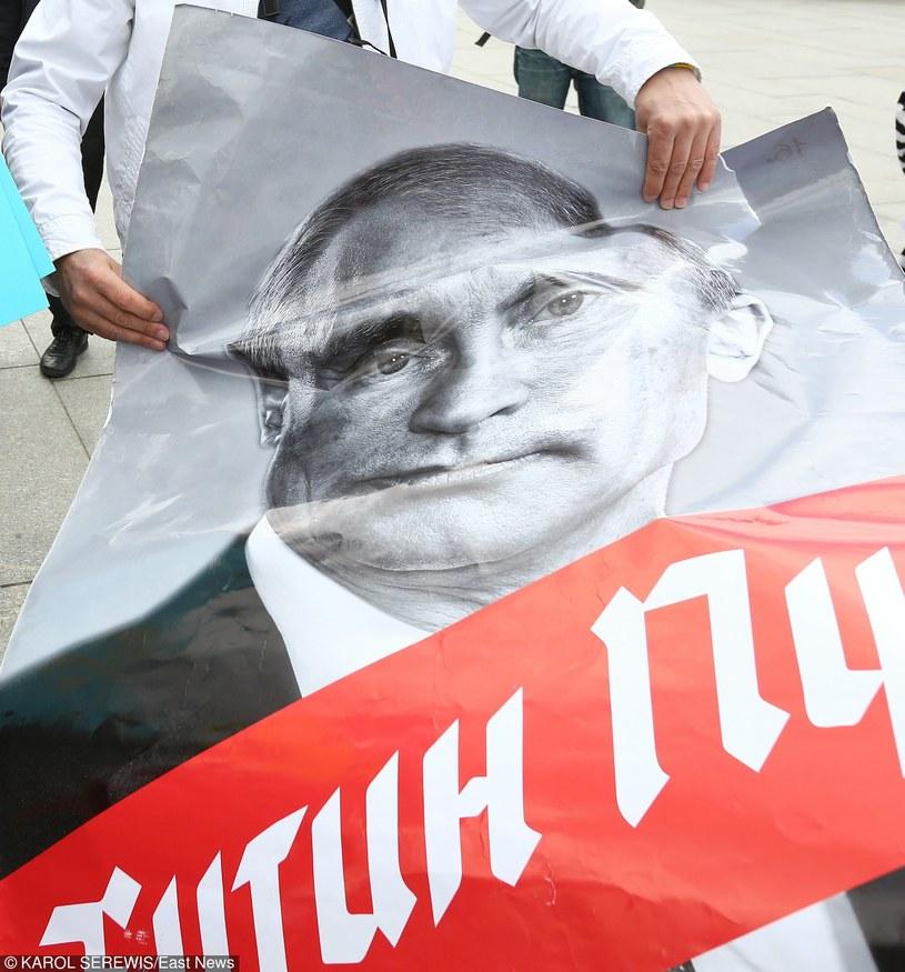 Polski Marsz Solidarności z Ukrainą /KAROL SEREWIS /East News