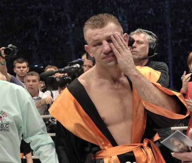 Polski pięściarz Tomasz Adamek /AFP