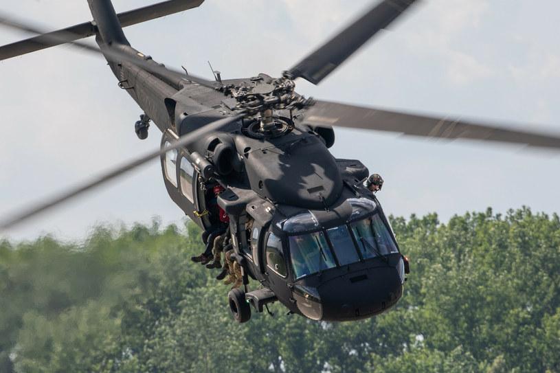 Polski S-70i. Gołym okiem widoczne są różnice w porównaniu do wersji dla amerykańskich sił specjalnych /Michał Adamowski /Reporter