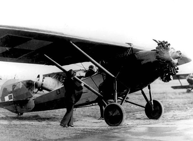 Polski samolot z września 1939 r. /Polska Zbrojna