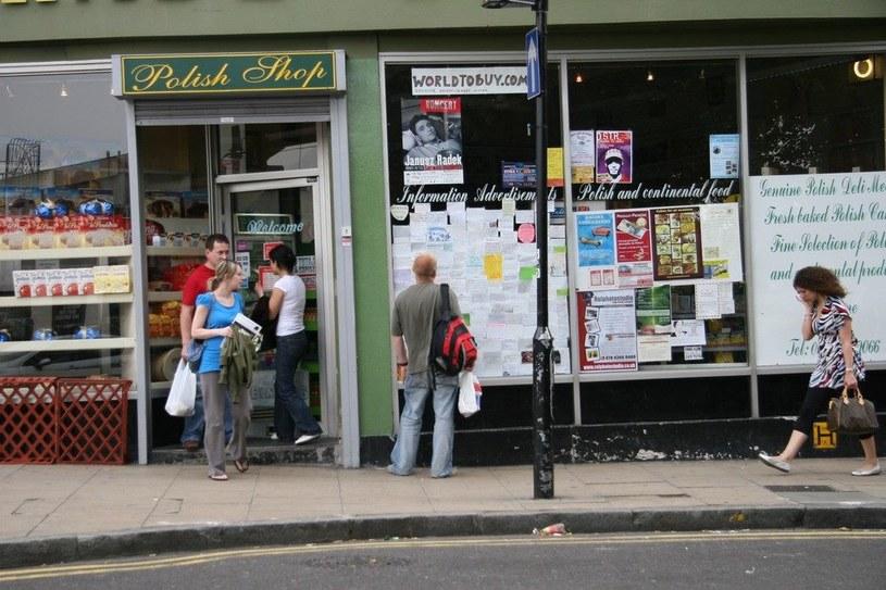 Polski sklep w Londynie /Bartosz Krupa /East News