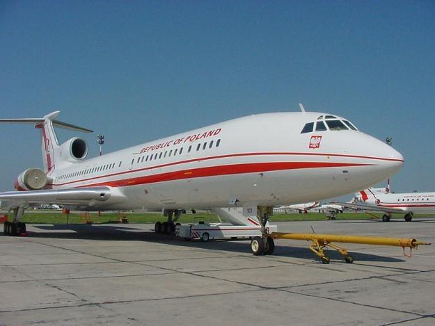 Polski Tu-154M /PAP