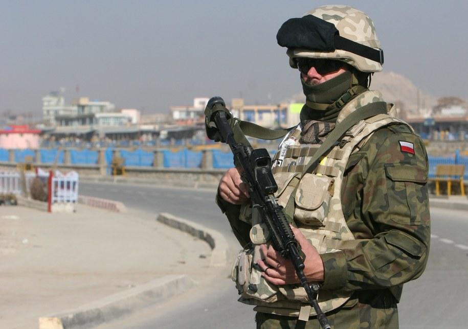 Polski żołnierz w Afganistanie /Naweed Haqjoo /PAP/EPA
