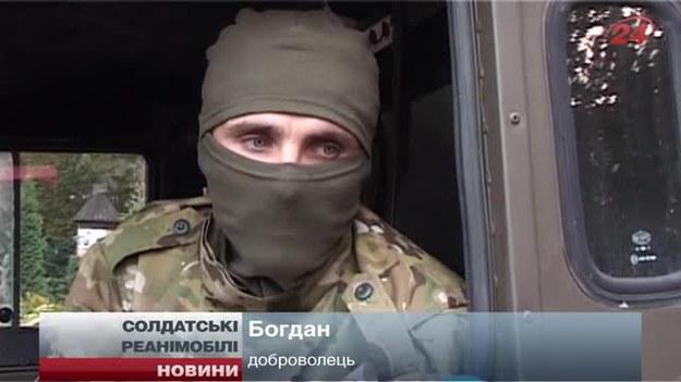 Polskie auta walczą na Ukrainie