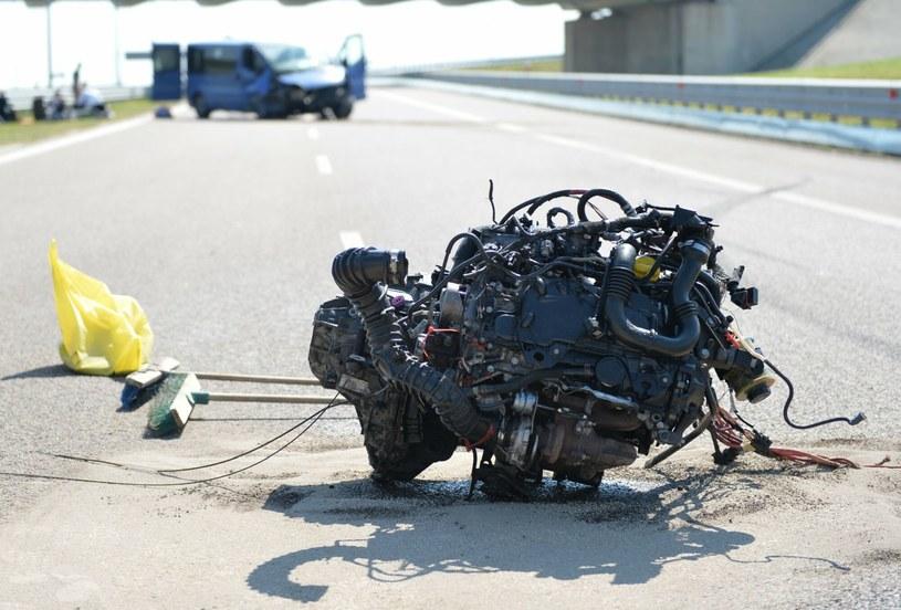 Polskie autostrady nie należą do najbezpieczniejszych /Łukasz Solski / East News /Agencja SE/East News