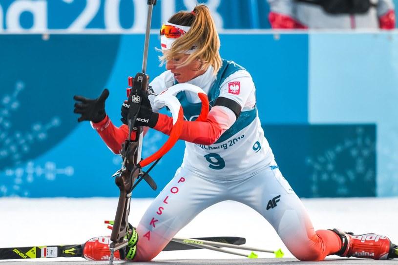 Polskie biathlonistki stoją przed ostatnią szansą na świetny wynik w Pjongczangu /AFP