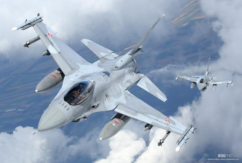 Polskie F-16. Niebawem cztery takie maszyny trafią na Bliski Wschód/fot. Bartek Bera /