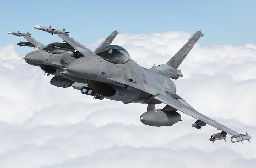 Polskie F-16, zdjęcie ilustracyjne /Fot. Bartek Bera /INTERIA.PL