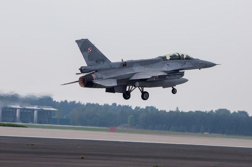 Polskie F-16 /Przemysław Szyszka /Agencja SE/East News