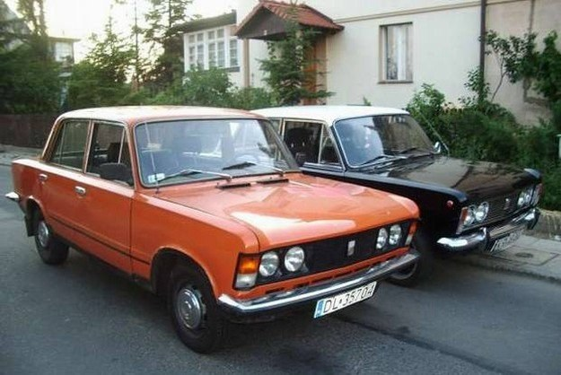 Polskie fiaty 125p /INTERIA.PL