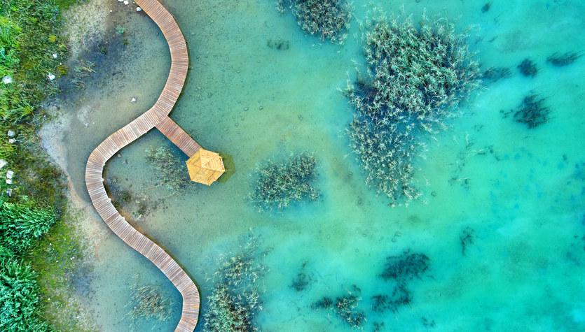 Polskie Malediwy: Park Gródek w Jaworznie