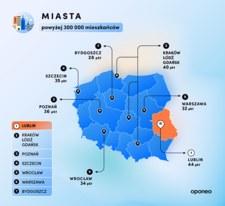Polskie miasta najbardziej przyjazne kierowcom
