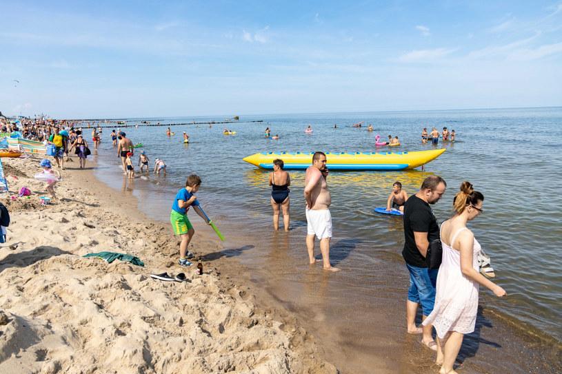 Polskie morze cieszy się dużą popularnością /Robert Stachnik /Reporter