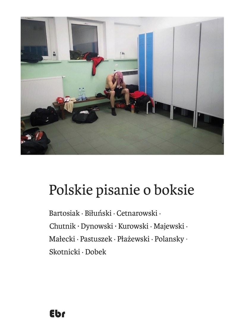 """""""Polskie pisanie o boksie"""" - okładka książki /"""