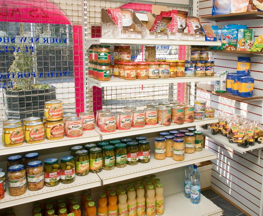 Polskie produkty w sklepie /Photoshot/Mark Fairhurst /PAP