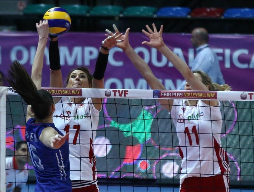 Polskie siatkarki nie pojadą na igrzyska olimpijskie w Rio de Janeiro /AFP