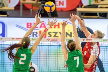 Polskie siatkarki pokonały Bułgarię 3:2
