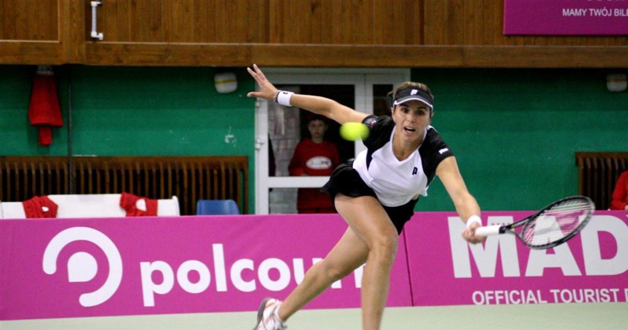 Polskie tenisistki remisują z Hiszpankami w Fed Cup