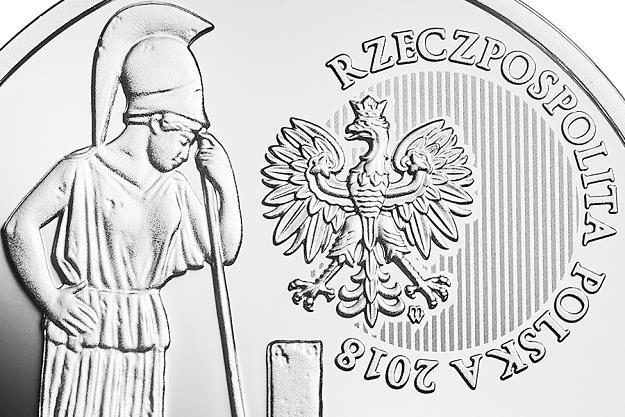 Polskie Termopile - Hodów, 20 zł, detal awersu /NBP