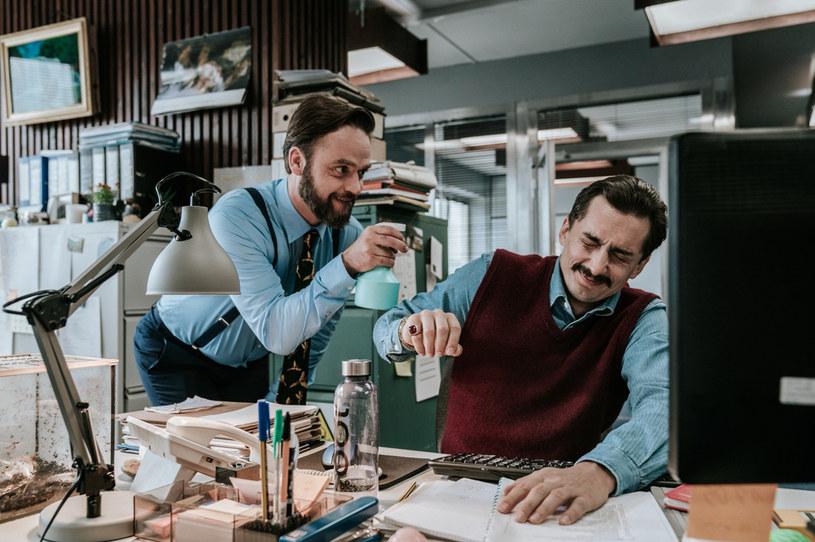 """Polskie """"The Office"""": Wyznacznikiem jakości będzie brak cenzury /Łukasz Bąk /Canal+"""
